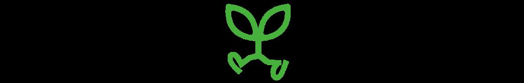透明横カタカナ緑